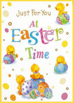 Just For You at Easter Chick Card