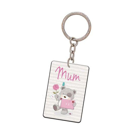 Teddy Mum Key Ring