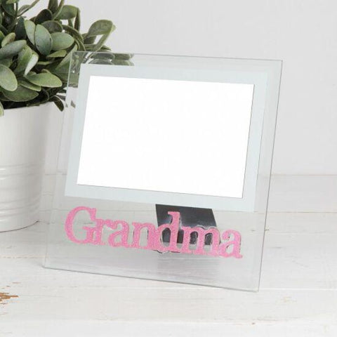 Grandma Glass Photo Frame 4 by 6