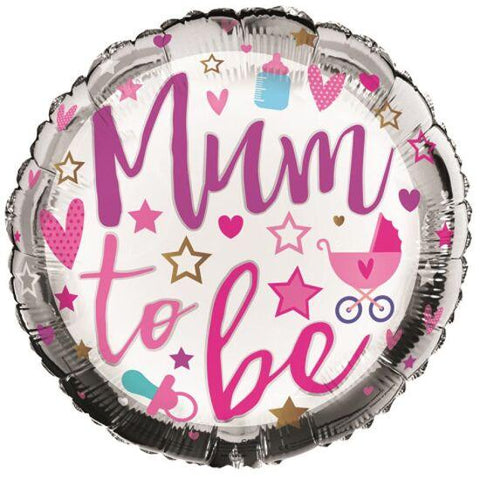 18in foil - Mum to Be Balloon