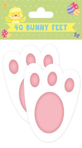 Copy of Easter Egg Hunt Bunny Feet 40pk