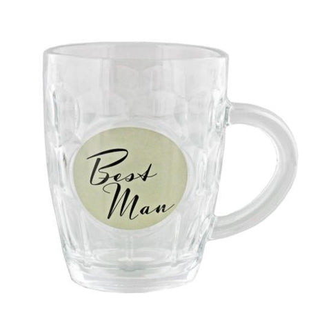 Amore Best Man Wedding Tankard