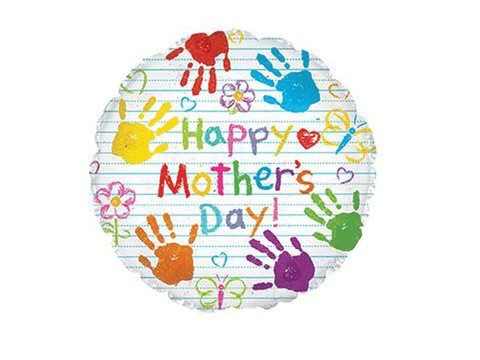 "Mother's Day Crayons 17"" Foil Balloon"