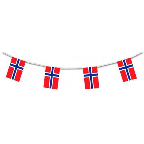Norway Flag Bunting