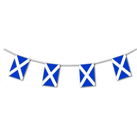 17ft Scotland St Andrews Plastic Flag Bunting