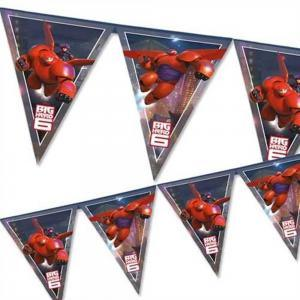 Big Hero 6 Plastic Flag Banner