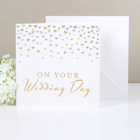 Amore Deluxe Card - On Your Wedding day