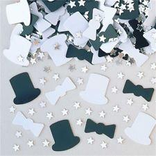 Top Hat and Bow Tie Confetti