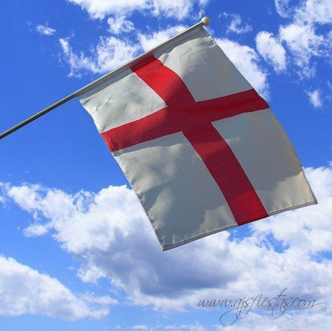 Large England Hand Waving Flag