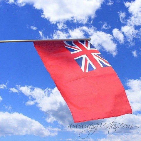 Large Red Ensign Hand Waving Flag