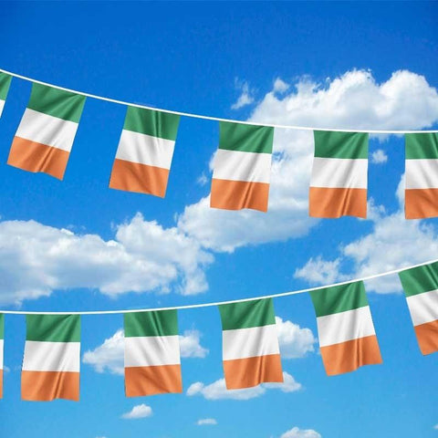 65ft Ireland International Polyester Flag Bunting