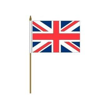 Small Union Jack Polyester Hand Waving Flags