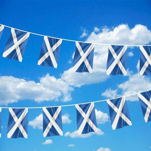 19ft Scotland Polyester Bunting