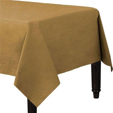Gold Paper Tablecovers -90cm x 90cm