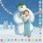 The Snowman and The Snow Dog Napkins