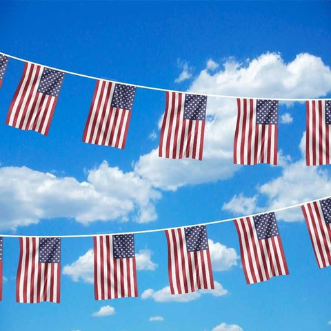 19ft USA Polyester Bunting