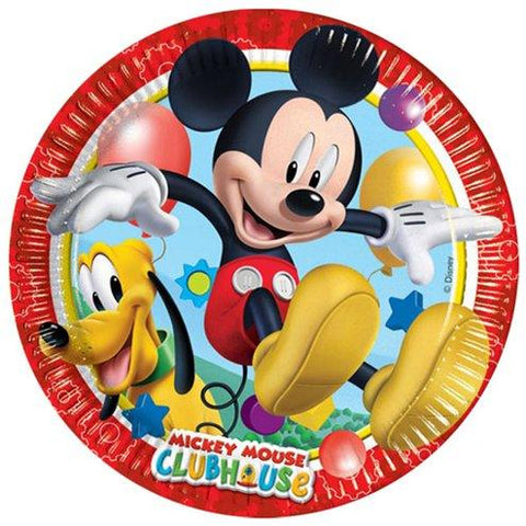 Mickey Mouse Paper Plates 22cm