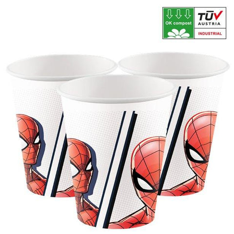 Spider Man Paper Party Cups