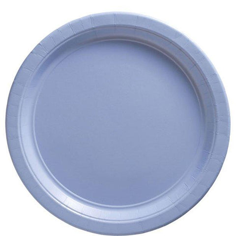 Baby Blue Paper Party Plates