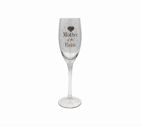 Mother of The Bride Champagne Flute