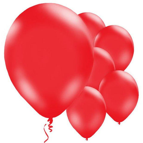 Red Latex Balloons 10 Pack