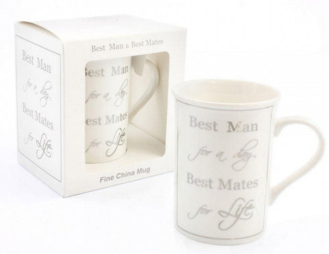 Best Man for A Day Best Mate for life-Fine China Mug