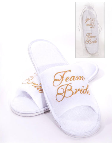 Team Bride Slippers