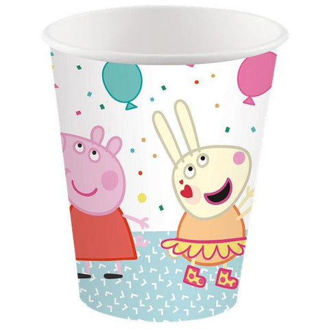 Peppa Pig Paper Party Cups-260ml