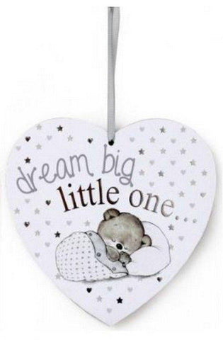 Baby Heart Shaped Plaque-19cm