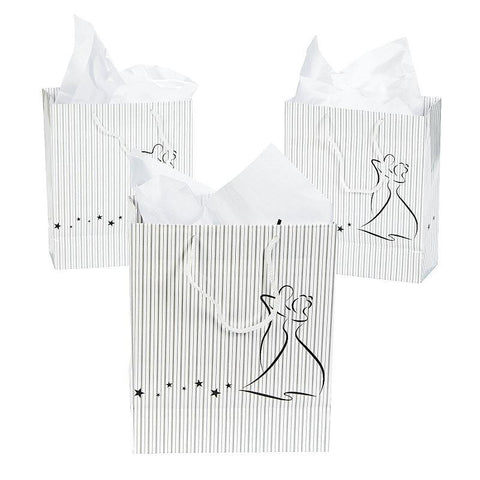 Dancing Couple Gift Bag
