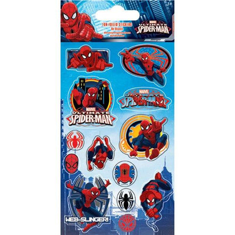 Spiderman Foil Stickers