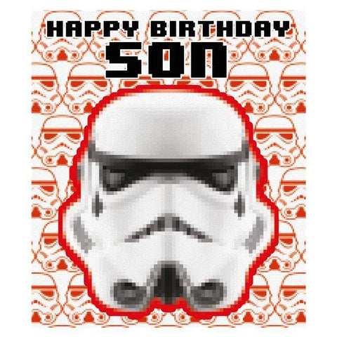 Stormtroopers Son Birthday Card