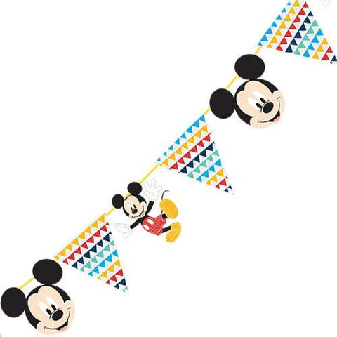 Mickey Mouse Paper Garland Kit-2m