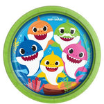 Baby Shark Paper Party Plates 23cm
