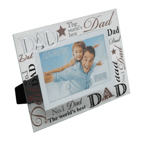 Dad Glass Photo Frame
