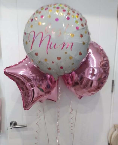 Mothers Day Best Mum Balloon Bouquet