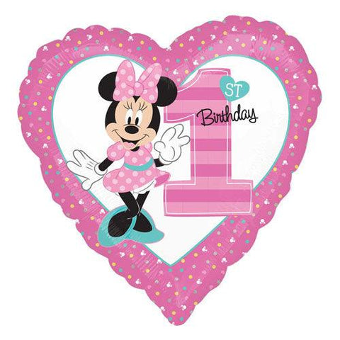 Minnie Mouse Number 1 Foil Balloon