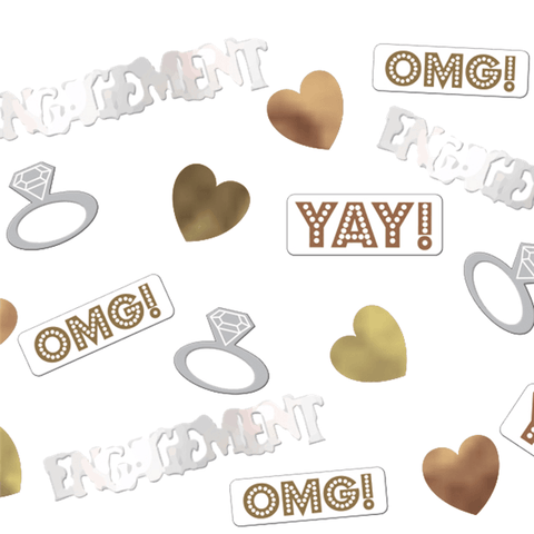OMG Engagement Table/Invite Confetti - 14g