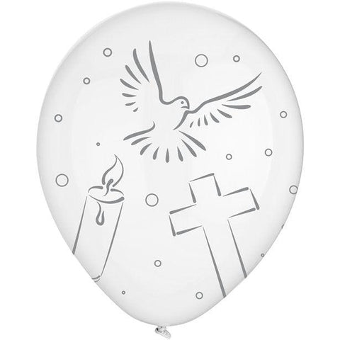 "Holy Communion Balloons - 12"" Latex"