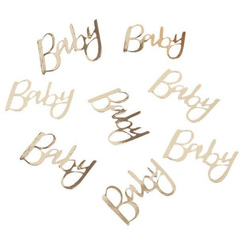 Oh Baby Gold 'Baby' Table Confetti