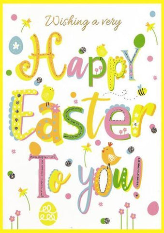 Wishing a Very Happy Easter to You