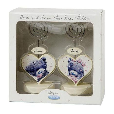 Me to You Bride and Groom Place Card Holders