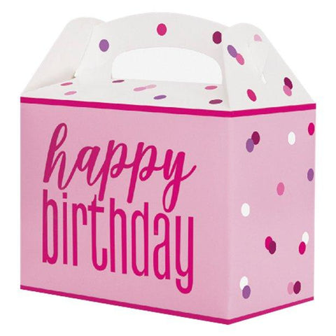Pink Glitz Birthday Party Box