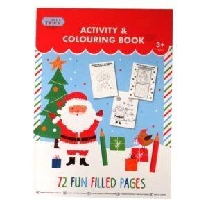 Children's A4 Christmas Colouring and Activity Book