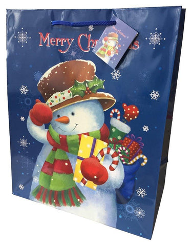 Small Snowman Gift Bags