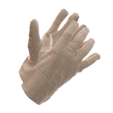 Men's 8 oz Cotton Bandtop Glove