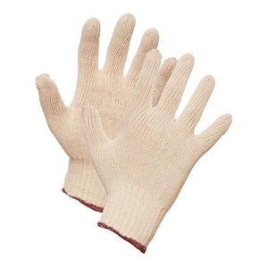 String Knit Work Gloves - Hi Vis Safety