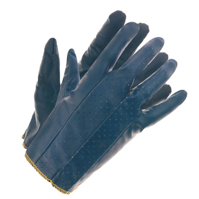 Lato-Knit Perforated Mens Glove - Medium