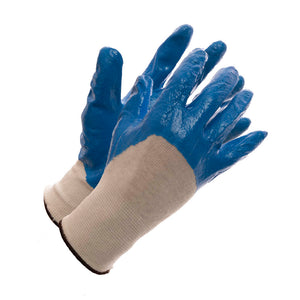 Nitrile Palm Dipped Glove