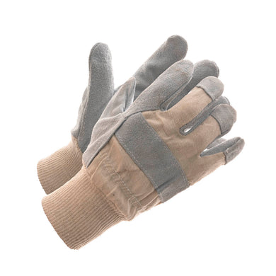 Split Palm Lined Work Glove